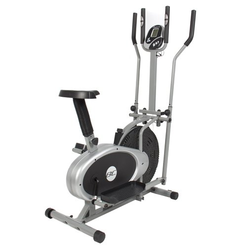 Best Choice Elliptical Bike 2 IN 1 Cross Trainer Exercise Fitness Machine Upgraded Model