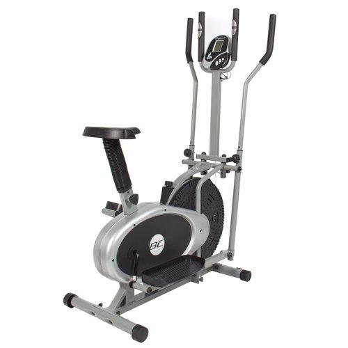 Best Choice Elliptical Bike 2 IN 1 Cross Trainer Exercise Fitness Machine Upgraded Model