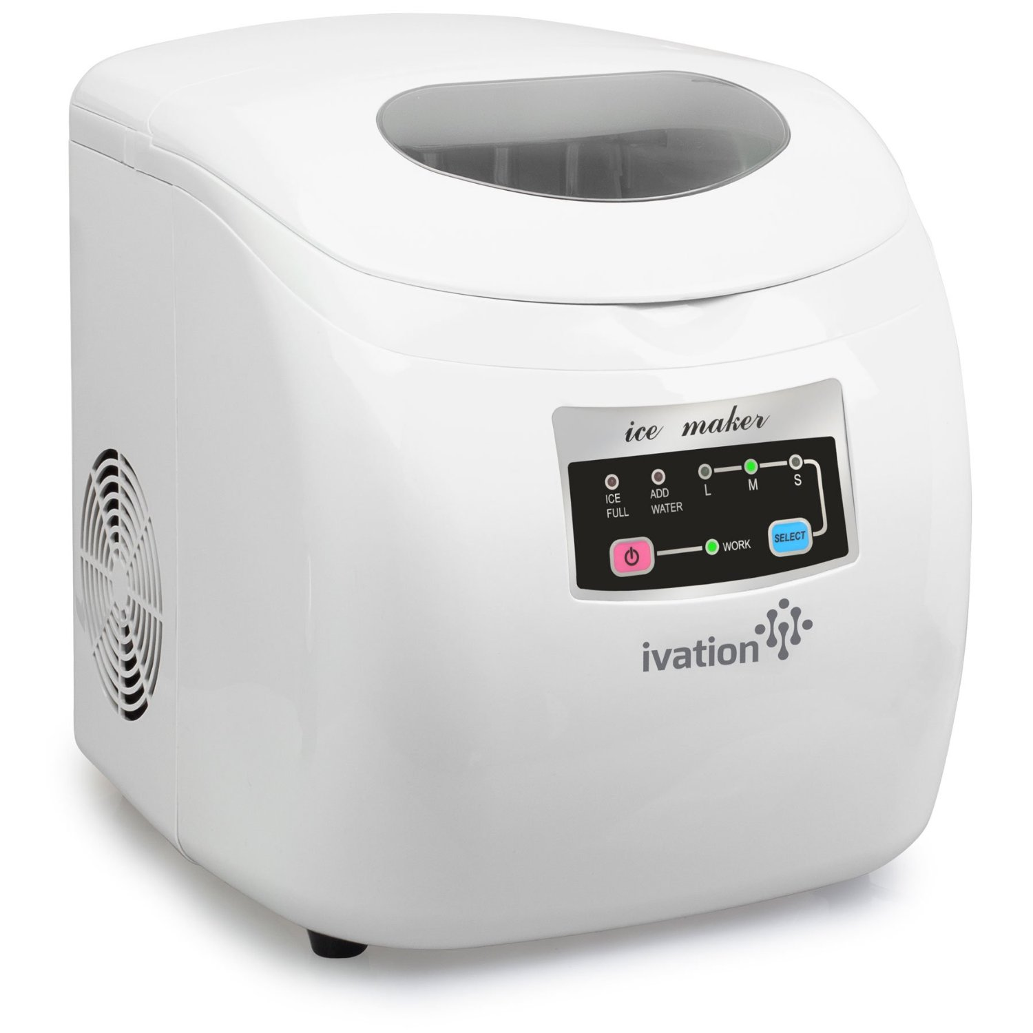 Ivation Portable High Capacity Ice Maker LCD Display