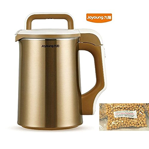 Joyoung DJ13M-D81SG Easy-Clean Automatic Hot Soy Milk Maker review