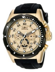 Invicta Men's 20306 Speedway 18k Gold Ion-Plated Stainless Steel Watch