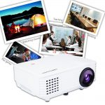DBPOWER RD-805 Portable Multimedia Mini LED Projector