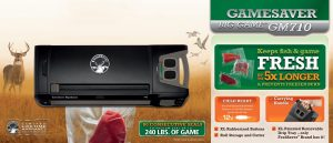 FoodSaver GameSaver Big Game Vacuum Sealing System GM710