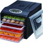 Ivation Electric Countertop Food Dehydrator with 6 Drying Racks