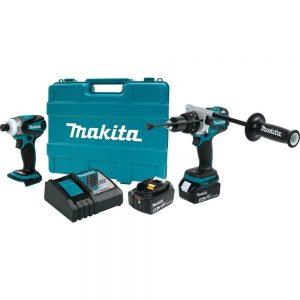 Makita XT252TB 18V LXT Combo Kit, 2 Piece