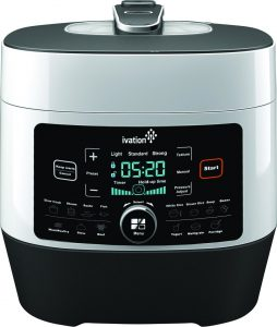 Ivation 8-In-1 Programmable Multi-Function Pressure Cooker