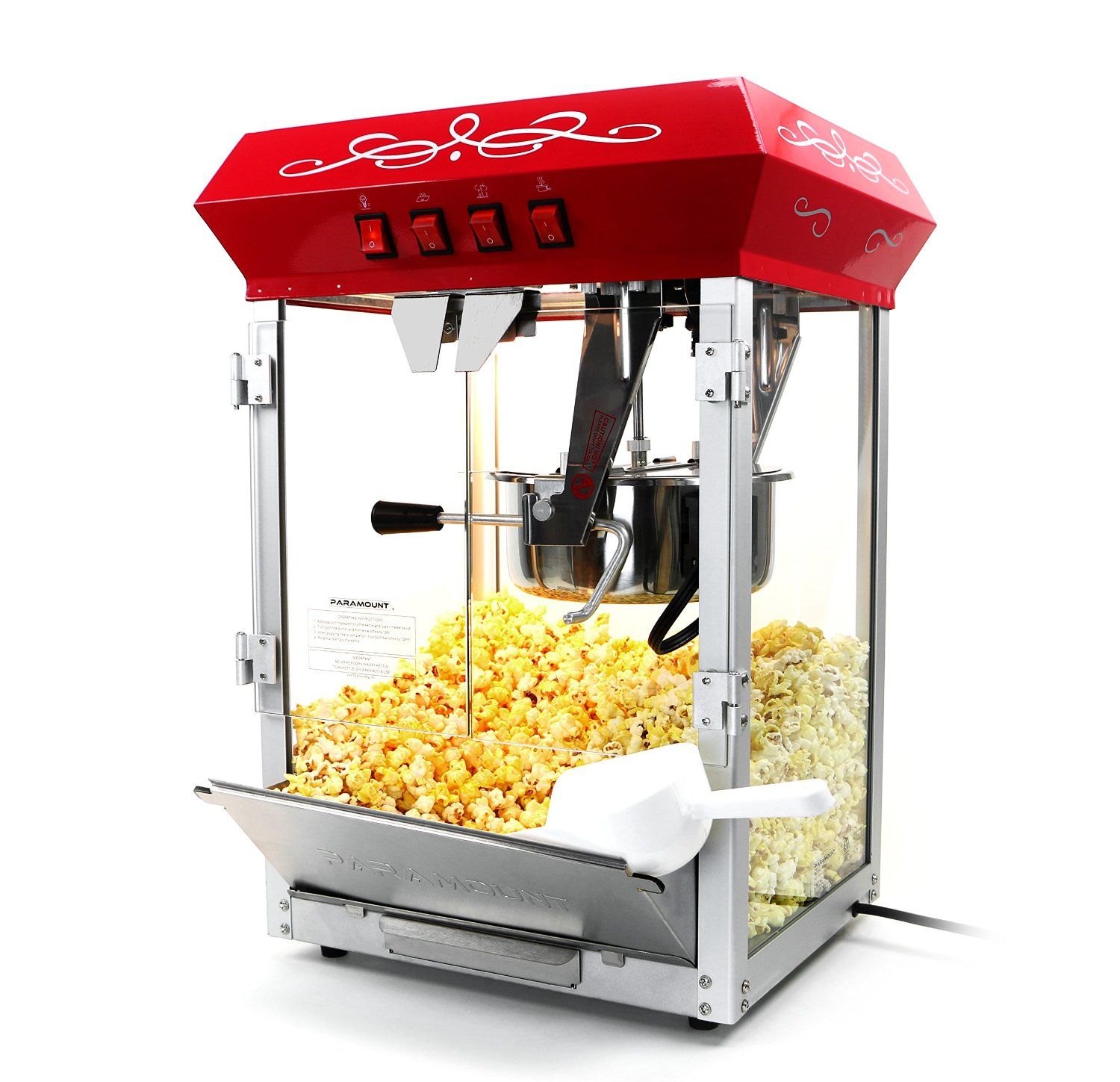 Paramount 8oz Popcorn Maker Machine P801R