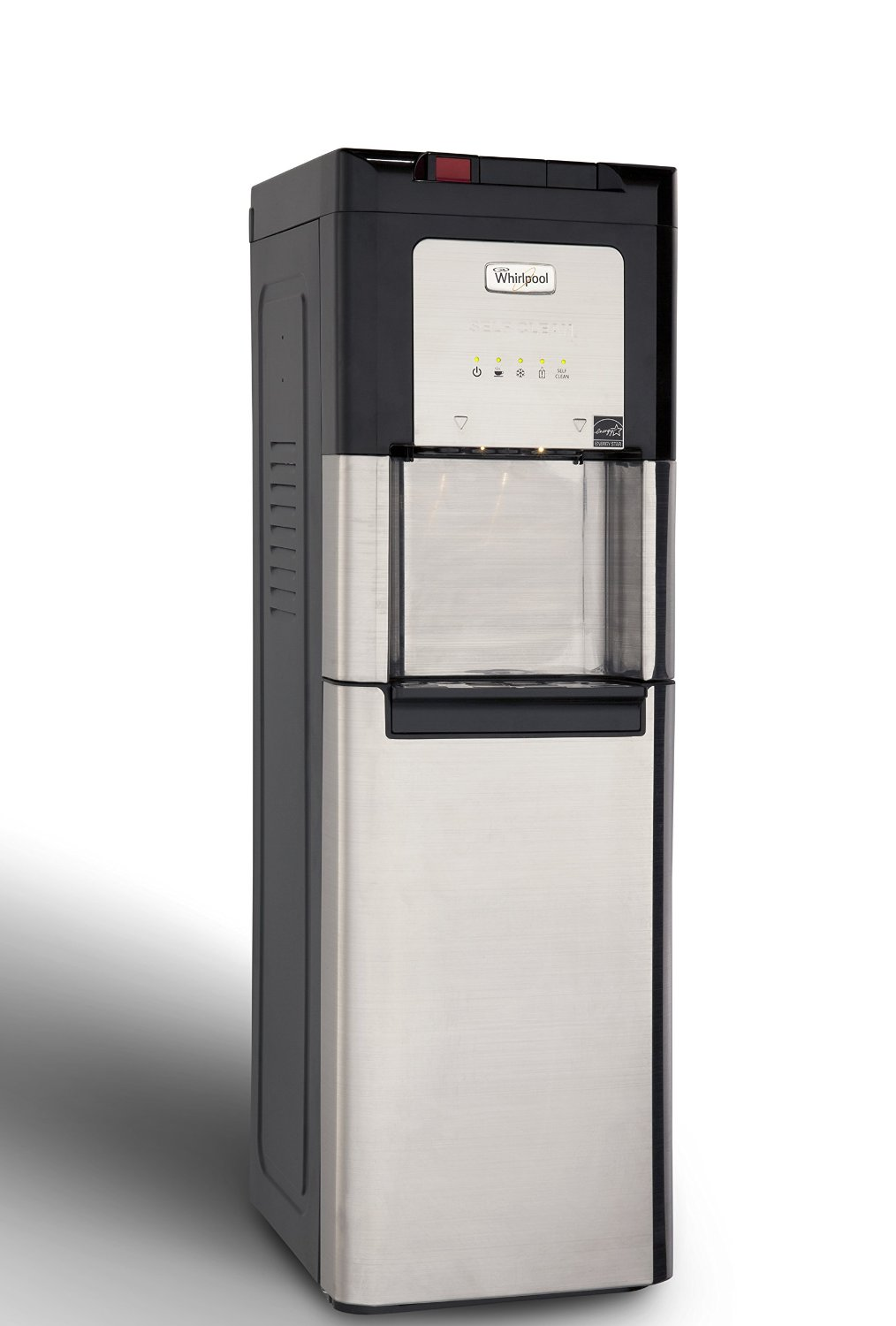 Whirlpool 218LIECH-SCSSFP5W Self Cleaning, Bottom Loading Commercial Water Cooler with LED Indicators