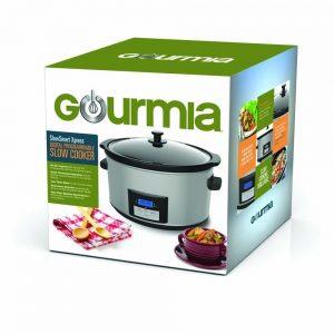 Gourmia DCP860 SlowSmart 8.5 Qt Digital Slow Cooker