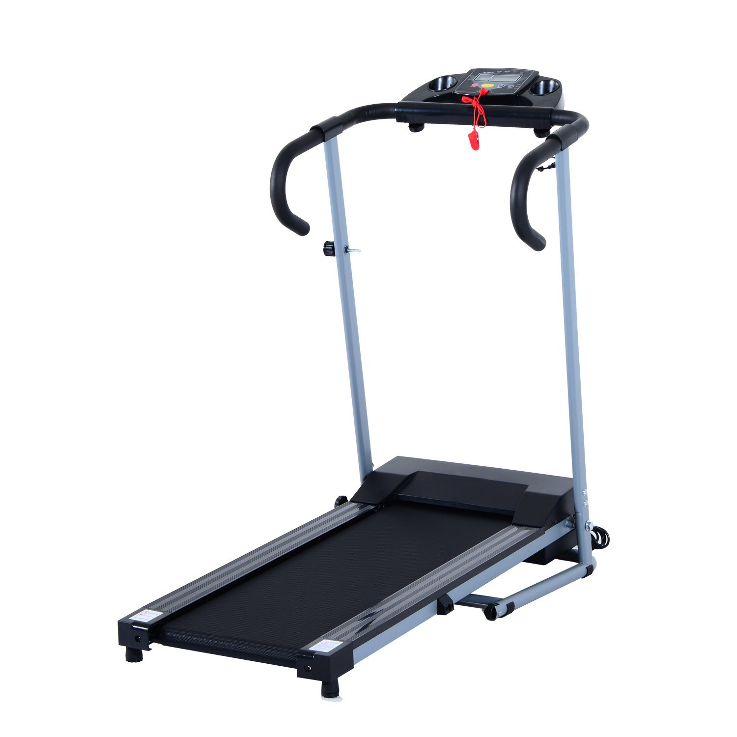 Soozier 500W Portable Electric Folding Treadmill