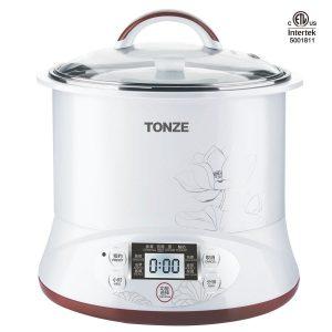 Tonze Smart Ceramic Pot Electric Stewpot DGD22-22EG, Slow Cooker