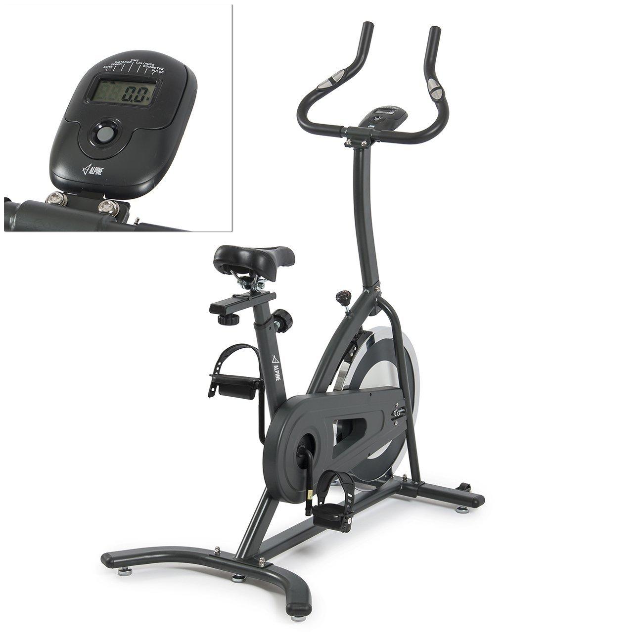 ALPINE Exercise Bike Indoor Cardio