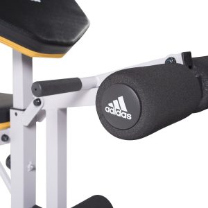 Adidas Sport Standard Bench with leg extension and curl