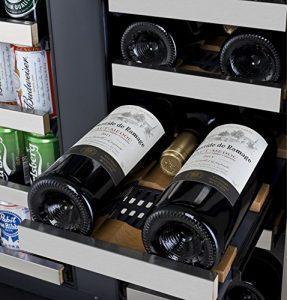Allavino VSWB-2SSFN - 2 Door Wine Refrigerator - Beverage Center