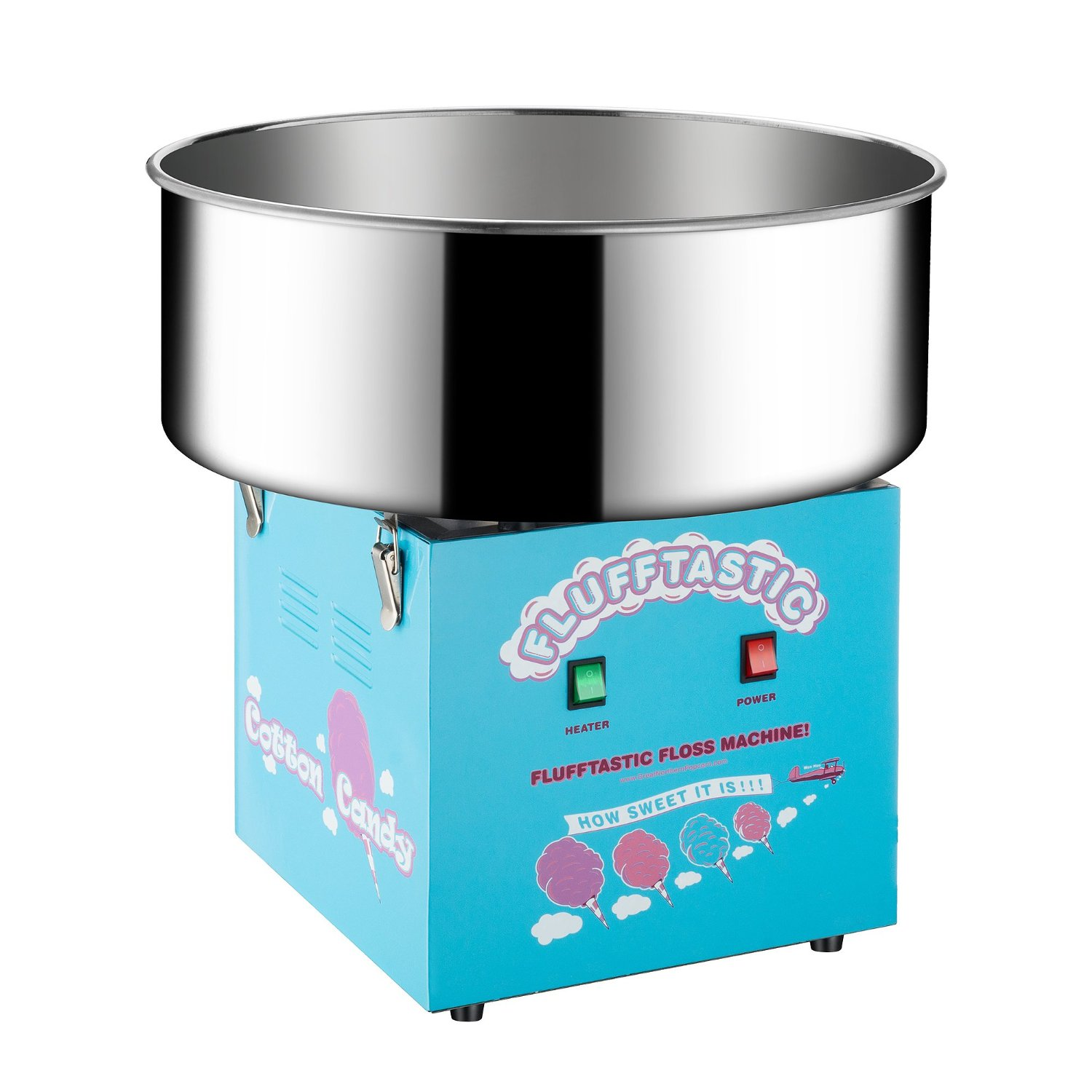 Great Northern Popcorn Company 6310 Flufftastic Table Top Electric Cotton Candy Machine