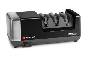 Wusthof Black 3 stage Chefs Choice PEtec Electric Knife Sharpener