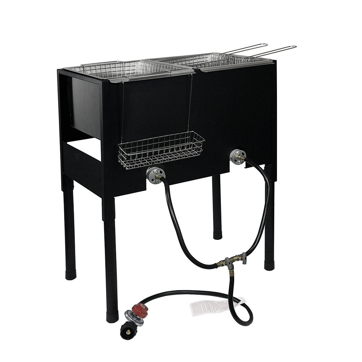 XtremepowerUS High-Pressure Triple Basket Deep Fryer
