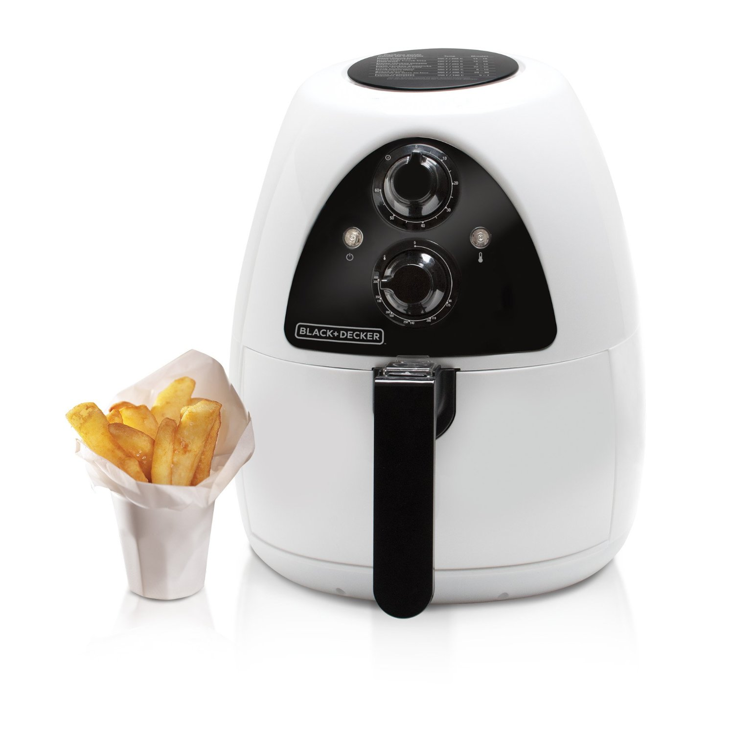 BLACK+DECKER HF100WD Purify 2-Liter Air Fryer