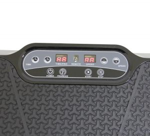 Clevr Ultraslim Black Crazy Fit Full Body Vibration Plate
