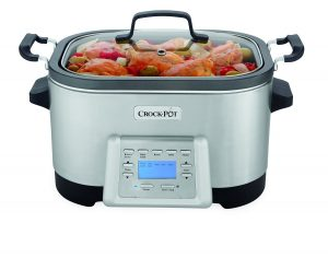 Crock-Pot 6-Quart 5-in-1 Multi-Cooker SCCPMC600-S