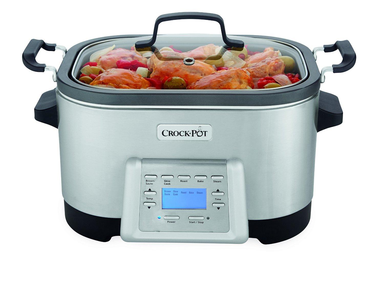 Crock-Pot 6-Quart 5-in-1 Multi-Cooker SCCPMC600-S