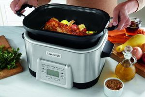 Crock-Pot SCCPMC600-S 6-Quart 5-in-1 Multi-Cooker