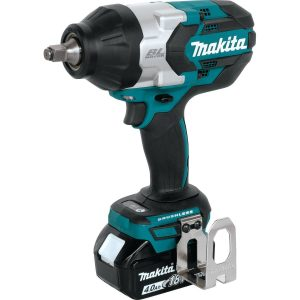 Makita XWT08M LXT Lithium-Ion Brushless Cordless High Torque Square Drive Impact Wrench
