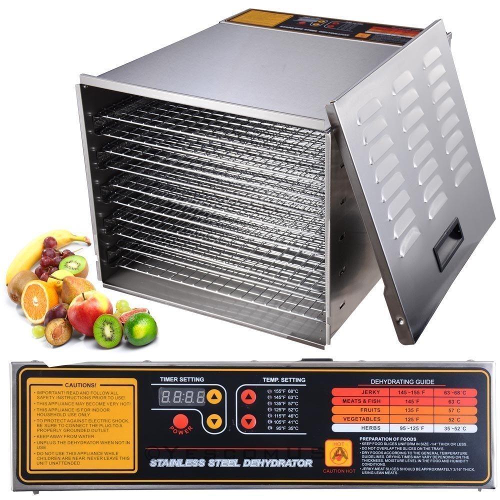 NEW LEAF 10 Tray 1200W food dehydrator