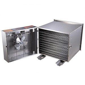 NEW LEAF 10 Tray 1200W steel food dehydrator