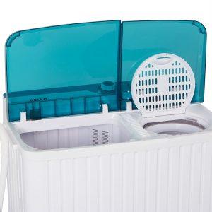 DELLA Portable Mini Compact Twin Tub Washer
