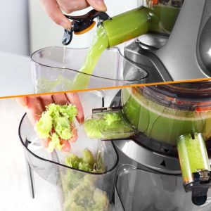 SKG New Generation Wide Chute Anti-Oxidation Slow Juicer