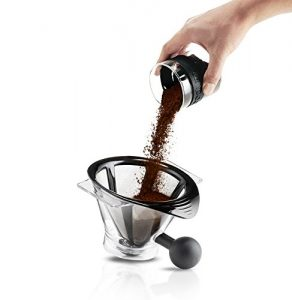 Bodum 11001-01TG Bistro Automatic Pour Over Coffee Maker