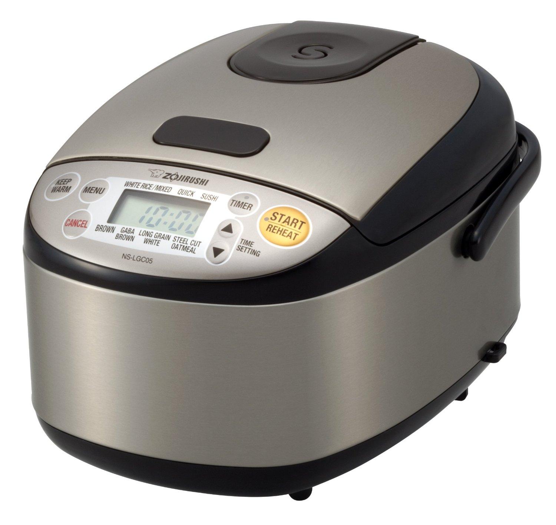 Zojirushi NS-LGC05XB Micom Rice Cooker and Warmer