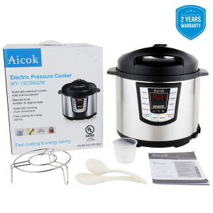 Aicok 7-in-1 Multi-Functional Programmable Pressure Cooker