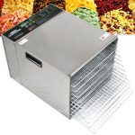 Crawford Kitchen Professional Stainless Steel Food Dehydrator