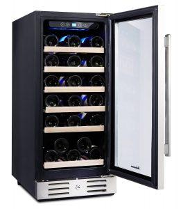Kalamera 15 inch Wine refrigerator 30 Bottle