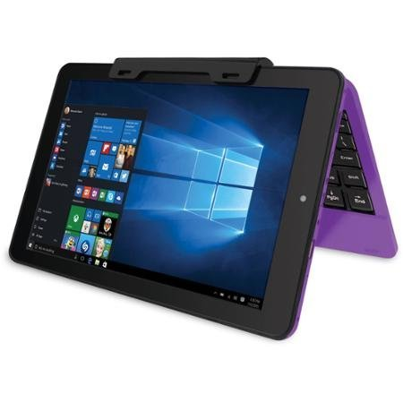 RCA Cambio Purple 10.1 2-in-1 Tablet PC