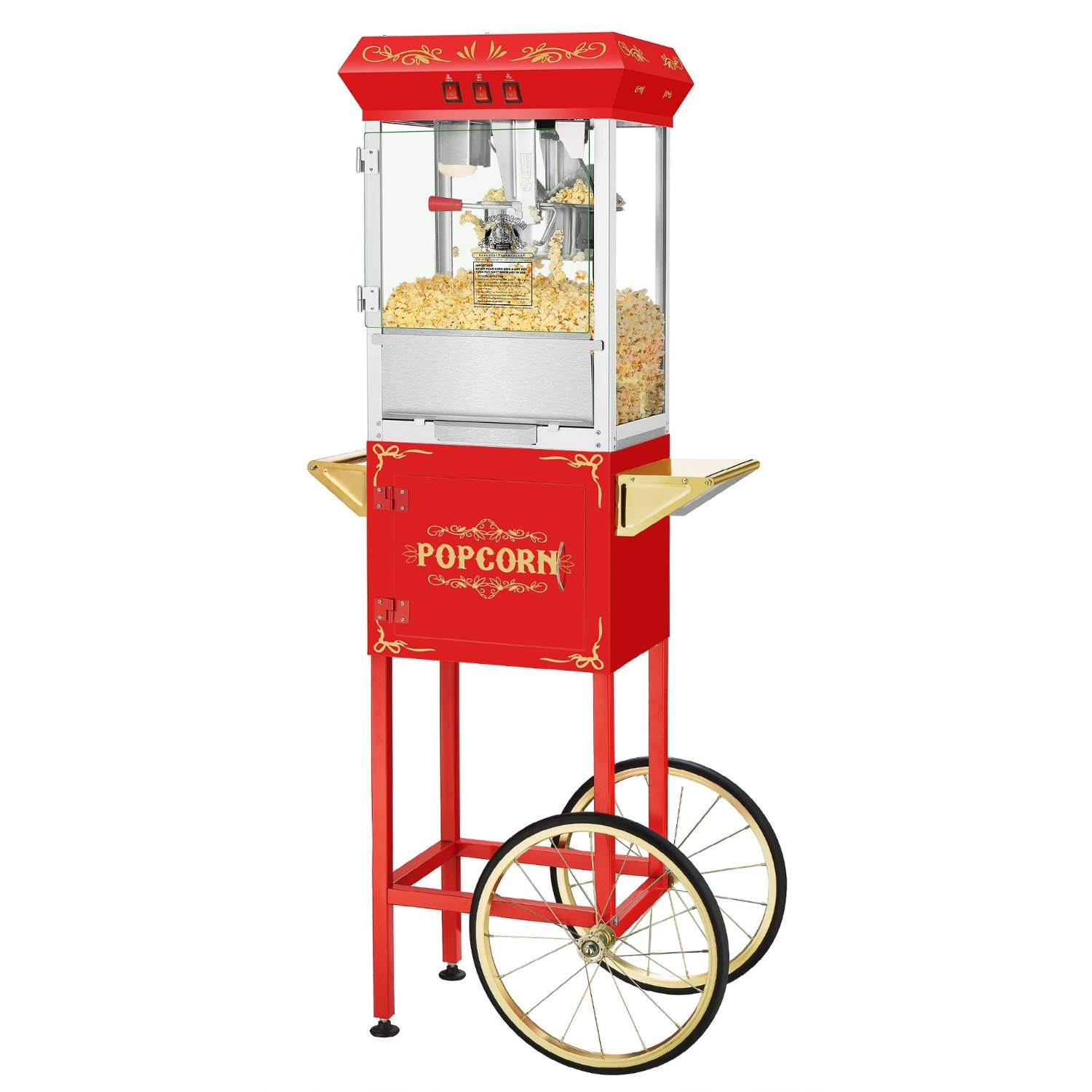 Superior Popcorn Company 4650 SPC Movie Night Red