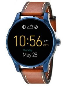 Fossil Q Marshal Touchscreen Brown Leather Smartwatch