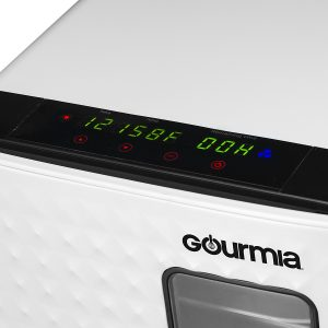 Gourmia GFD1850 Food Dehydrator With Touch Temperature Control