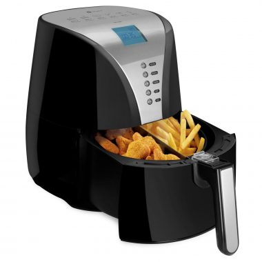 Zelancio IDD-1500 Digital LCD Display Stainless Steel Air Fryer
