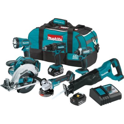 Makita XT610 18V LXT Lithium-Ion cordless 6-Piece Combo kit