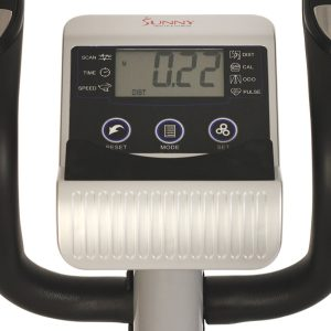 Sunny Health & Fitness SF-E3628 Magnetic Elliptical LCD Display