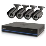 Swann SWDVK-880754-CL 8-Channel 1080p Surveillance Kit with 4 Cameras