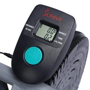 sunny health & fitness air resistance hybrid bike b2618 LD Display
