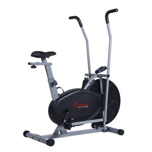 sunny health & fitness air resistance hybrid bike sf-b2618