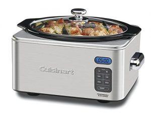 Cuisinart PSC-650FR Programmable 6.5 Qt. Slow Cooker