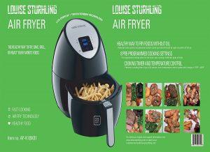 LOUISE STURHLING1500W Air Fryer AF-K1BK01