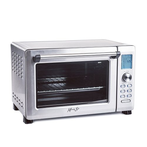 Morning Star - Extra Large -12-Slice Countertop Digital Infrared Convection Toaster Oven