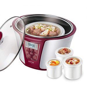 Bonus Pack Sonya Smart Ceramic Pot Electric Stew Pot